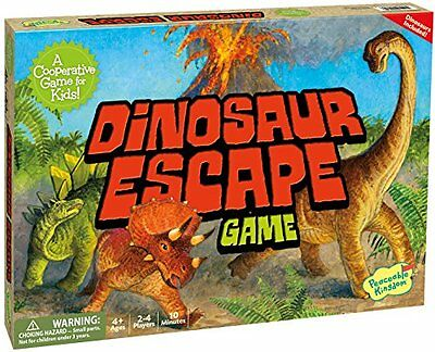Peaceable Kingdom Dinosaur Escape Award Winning Cooperative Game for Kids