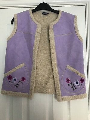 Girls Gillet From Falmer Age 10-11 Years
