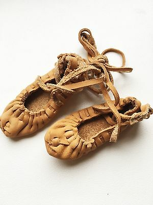 New Handmade Souvenir Latvian Traditional Dancing Shoes Leather