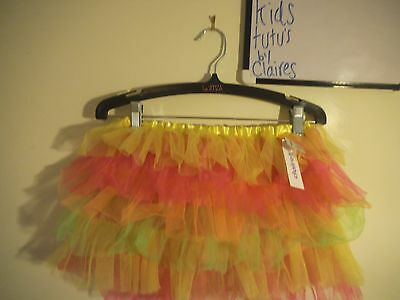 Rainbow Tutu New with tags 10-13 years Girls Skirt Age 10 11 12 13