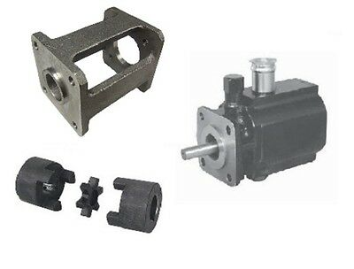 Hydraulic 8 GPM Hi Lo Two 2 Stage Log Splitter Pump / Bracket / Couplers Kit New