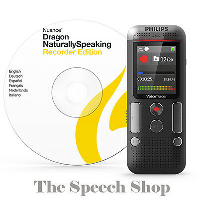 Philips DVT2710 Digital Voice Tracer & Dragon software ***FREE UK DELIVERY***
