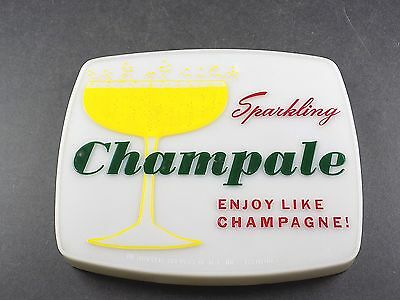 Vintage Advertisement Lighting Cover ,  Sparkling Champale