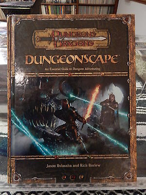 Dungeons & Dragons Dungeonscape - great shape!