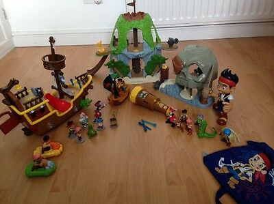jake and the neverland pirates toy bundle