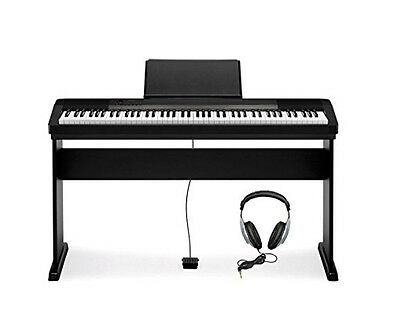 Casio CDP-130 Digital Electric Piano Package with Casio CS44 Stand & Headphones
