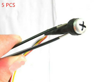5PCS Screw bar-type micro lens nanny hidden camera CCTV HD Security mini camera