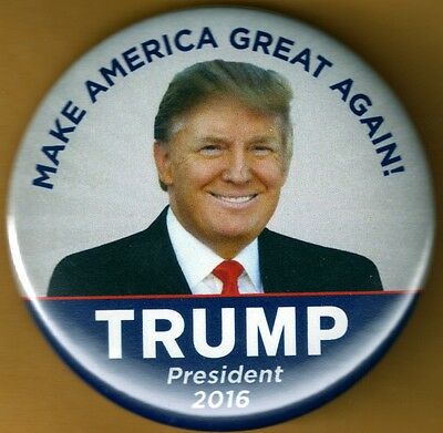 Donald Trump  for President 2016 Presidential Campaign Button