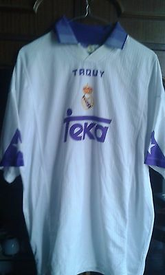 Real Madrid RAUL XL   Football Shirt camiseta futbol