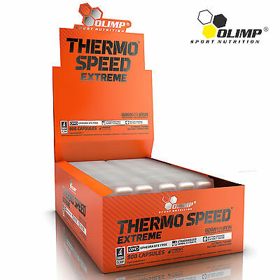 Thermo Speed Extreme 30-180 Caps. Fat Burner Diet Focus Lose Belly Weight Energy