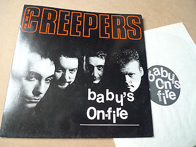 """CREEPERS Baby's on Fire 12"""" In Tape – IT 033 The Fall Marc Riley"""
