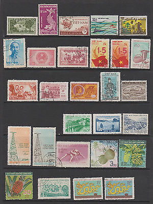 Vietnam Collection of 117 mint & used on 5 pages