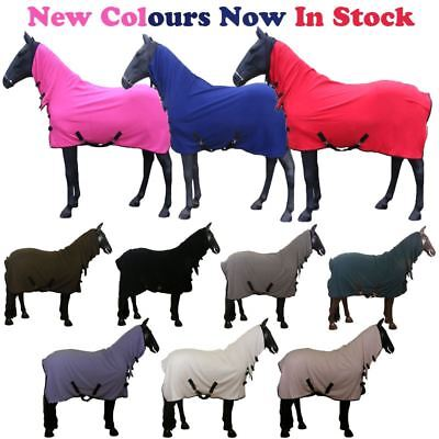 White Horse Equestrian Full Neck Soft Cooling Breathable Fleece Stable Rug