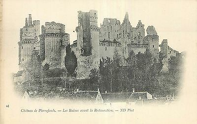 60 Pierrefonds Chateau Ruines Nd