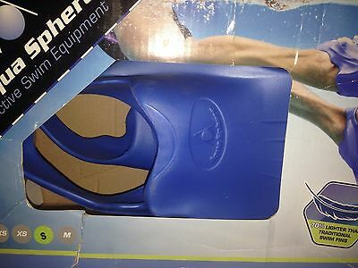 Aqua Sphere AlphaFins Size Small New In Box Swimming Pool Ocean Training