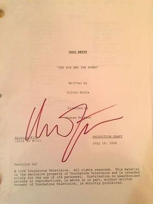 Ugly Betty Signed Autographed Script The Box and the Bunny by America Ferrera
