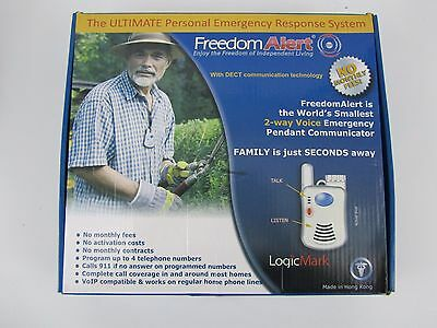 Freedom Alert System 35511 LogicMark No activation fees,no monthly fees