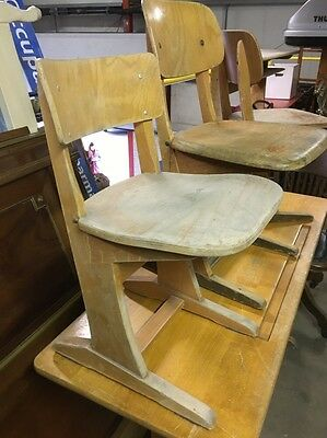 Casala Continental School Chair, Vintage Mid Century Design Icon