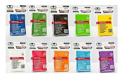 60 Pack Ultimate Guard  Supreme sleeves - Deck Protectors Small Size -  Yu Gi Oh