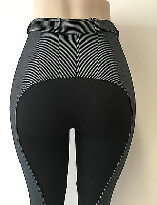 Ladies Black Pinstripe Riding Jodhpurs/jodphurs All Sizes