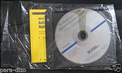 National Instruments LabView 8.5.1 & Developer Suite Switch Executive Dev. Syst