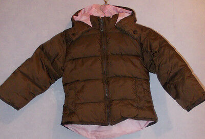 Girls CHILLED CHICK dk brown  Anorak/jacket  Age 2-3 yrs