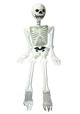 INFLATABLE SKELETON BLOW UP TOY 183cm HALLOWEEN PARTY DECORATION FANCY DRESS NEW