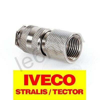 Air Quick Connector 2 in 1 for IVECO Stralis Tector / Universal Air Tank Connect