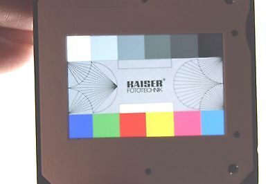 KAISER test slides 5969 (3 pieces in the pack, see photos and link) testdia-satz