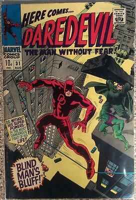 Daredevil #31 (Marvel 1967 1st series) VG+ condition. Bagged and boarded.