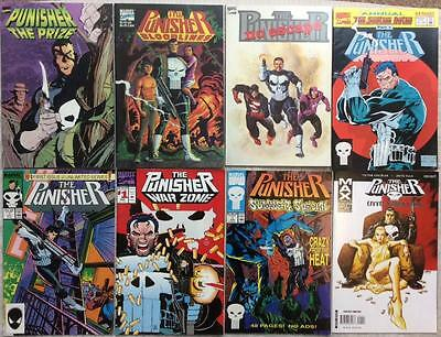 PUNISHER MASSIVE COLLECTION JOB LOT. 95 X issues. See description.
