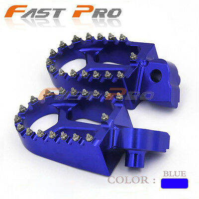 Foot Pegs Rests Pedals For Yamaha YZ125 YZ250 YZ250F YZ450F WR250F WR400F WR450F