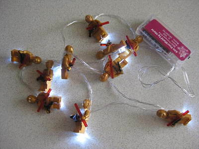Star Wars Inspired - 3Po 10 String Led Fairy Lights Battery Operated Night Light