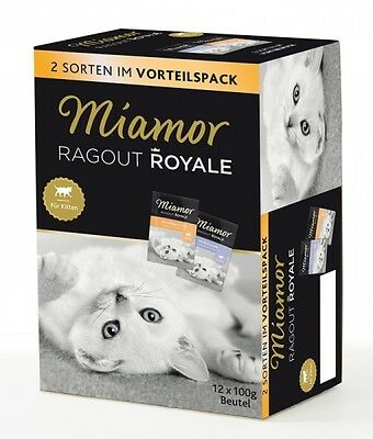 Miamor Ragout Royal Kitten Jelly 12x100g Frischebeutel