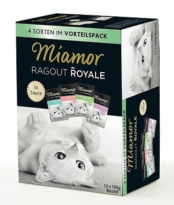 Miamor Ragout Royale Multi Mix in Sauce 12x100g