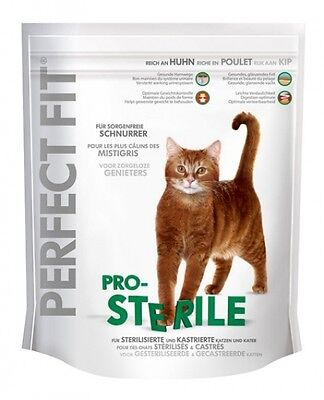 Perfect Fit Cat Pro-Sterile reich an Huhn 750g