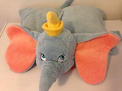 Dumbo Disney Parks Pillow Pet Preowned Very Good Condition
