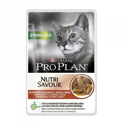 Pro Plan Cat Sterilised Beef 85g