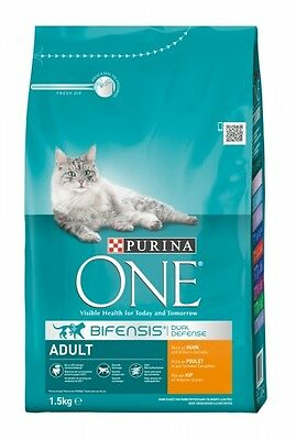 Purina ONE BIFENSIS Adult reich an Huhn 1,5kg