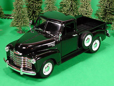 Die Cast Vintage 1953 Chevy 3100 Pickup G Scale 1:24 by Welly