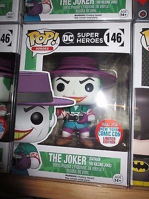 Funko Pop! NYCC 2016 The Joker Killing Joke Exclusive MINT / free protector