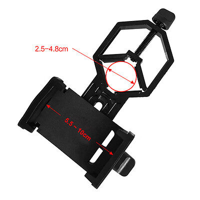 Universal Telescope Cell Phone Mount Adapter for Monocular Spotting Scope AU Hot