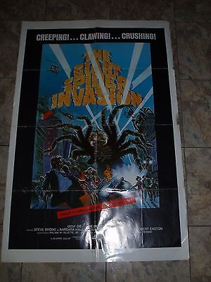 """""""the Giant Spider Invasion """"  Original 1976 One-Sheet Poster"""