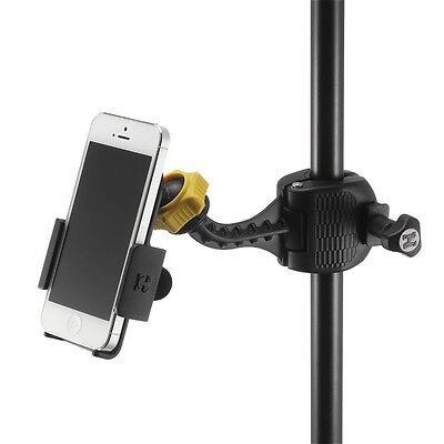 Hercules DG200B iPhone / Smartphone Holder for music / microphone / mic stand