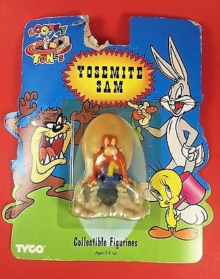 Yosemite Sam VTG 1994 Looney Tunes Collectible Figure Sealed Collectible Figure
