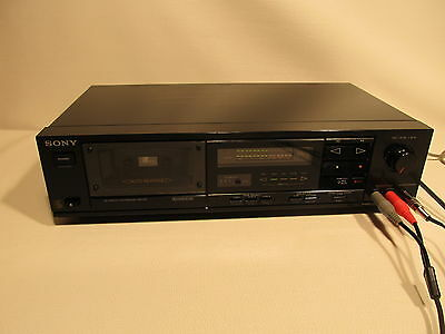 SONY TC-RX 400 stereo  cassette deck (ref 556)