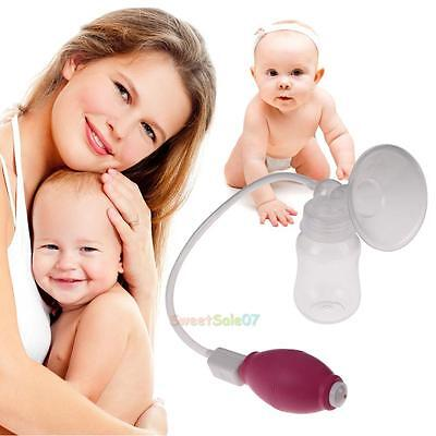 Female Super Manual Breast Pump Breast Suction Enlarger Kit+Baby Feeding-Bottle
