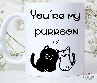 Cat Mug - Youre My Person - Cute Cat Mug - Cat Lover - Cat Coffee Mug - Kitten