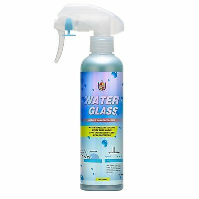 TACSYSTEM Water Glass Water Repellent 250 ml Super Hydrophobic Car Spray Glass