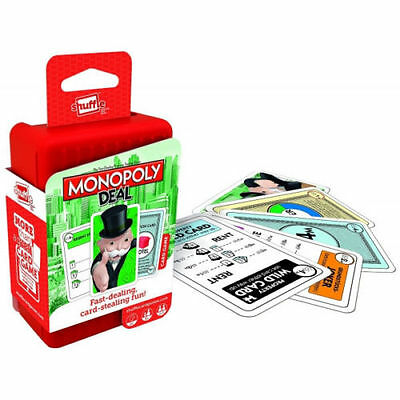 Shuffle Monopoly Deal Card Game Brand New from Toy Junction
